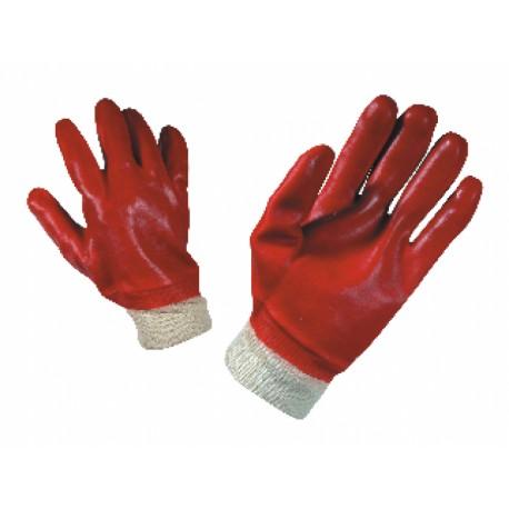 Manusi de lucru imersata in PVC, REDPOL Cod: 0105027