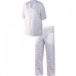 Costum medical de damă M3 alb cod 0104050