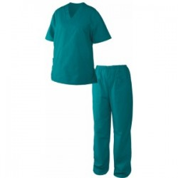 Costum medical de damă M3 verde cod 0104050